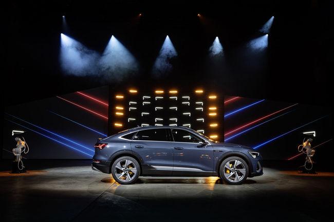 Le nouvel Audi e-tron Sportback dévoilé à Los Angeles