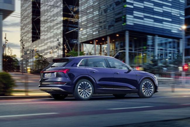 Autonomie accrue pour l'Audi e-tron