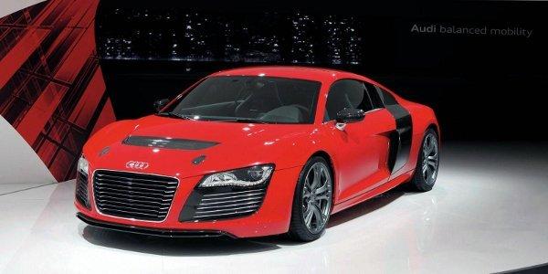 Francfort: prototype Audi R8 e-tron
