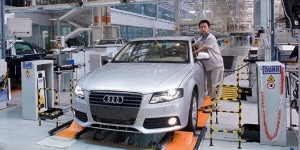 Audi passe le million en Chine