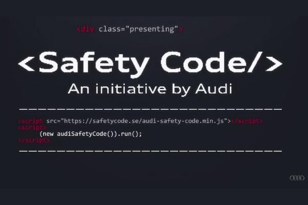 Audi Safety Code : une ligne de code pour sauver des vies ?