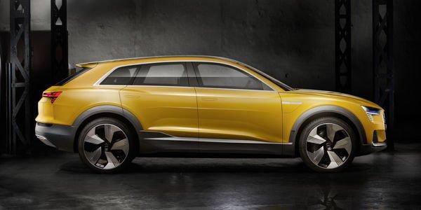 L'Audi H-Tron quattro concept dévoilé à Detroit