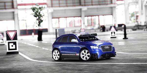 Audi présente son Autonomous Driving Cup