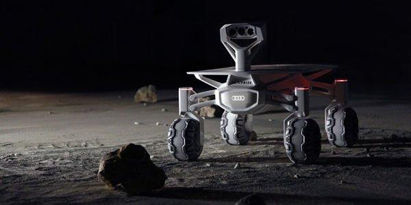 Audi lunar quattro pour explorer la surface de la lune