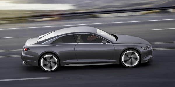 L'Audi Prologue concept en mode autonome au CES