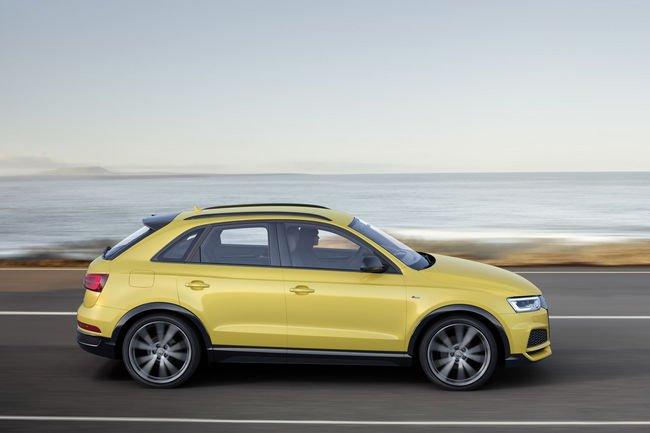 Une finition S line competition pour l'Audi Q3