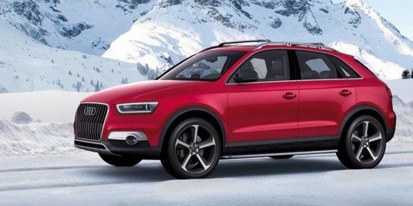 Audi Q3 Vail : futur Q3 RS ?