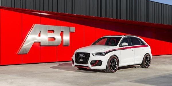 ABT Sportsline s'attaque à l'Audi RS Q3
