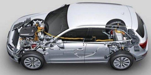 L'Audi Q5 s'hybride à L.A.