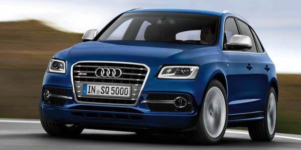 L'Audi SQ5 va passer à l'essence