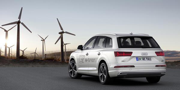 Nouvel Audi Q7 e-tron quattro