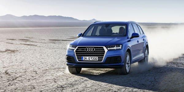 Audi Q7 : carnet de commandes ouvert