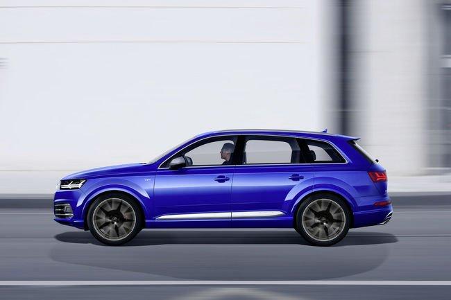 Première mondiale pour l'Audi SQ7 TDI