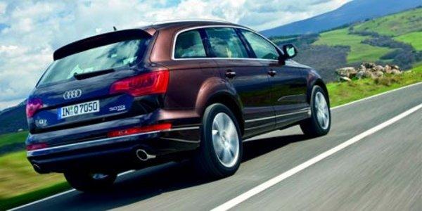 L'Audi Q7 en TDI 204 ch