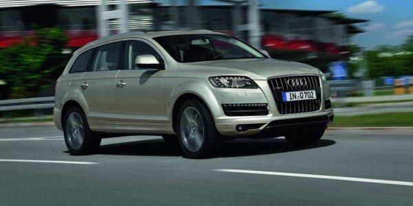 Régime intense pour l'Audi Q7 2012
