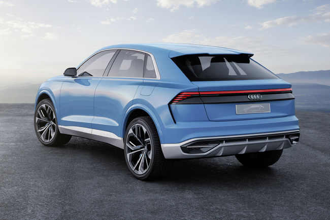 L'Audi dévoile son concept Q8 à Detroit
