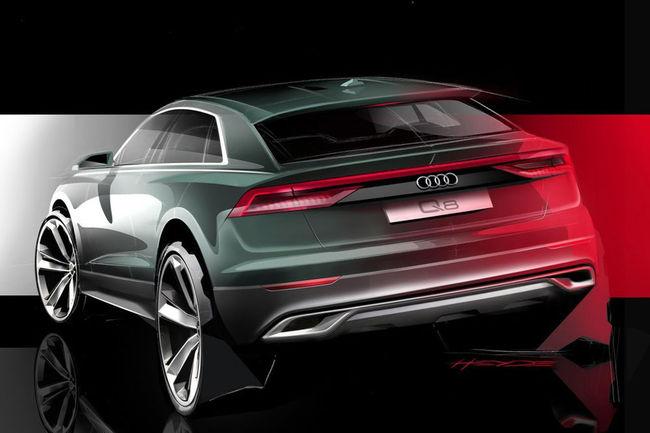 Nouveau teaser pour le SUV Audi Q8