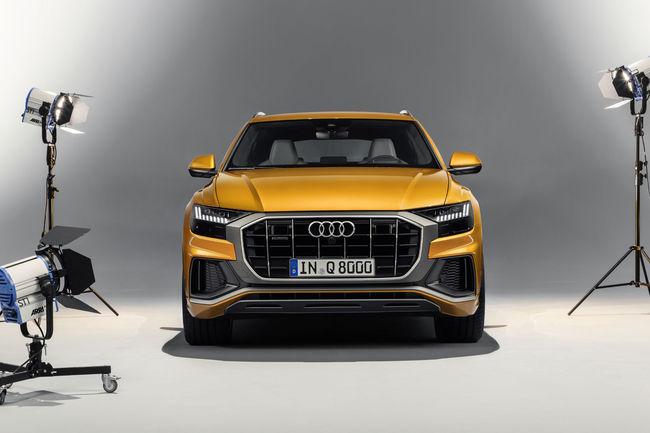 Nouveau SUV Audi Q8