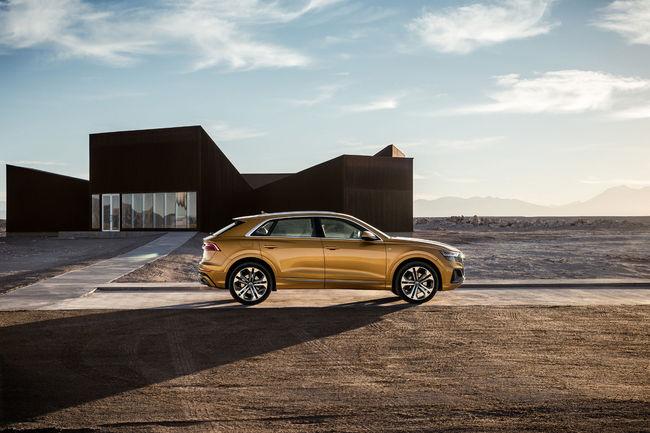 Deux nouvelles motorisations V6 pour l'Audi Q8