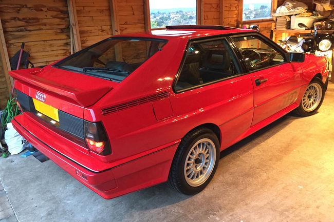 Une Audi quattro Turbo de 1991 aux enchères