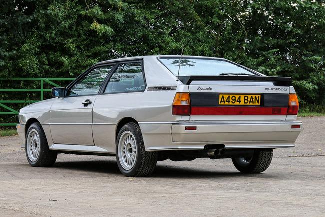 Une Audi quattro turbo aux enchères pour la bonne cause