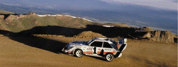 Quattro au Pikes Peak : déjà 20 ans !
