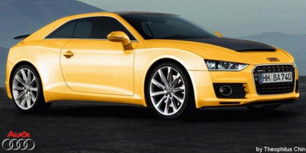 Audi Quattro, vision de série