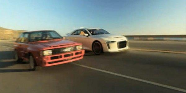 Audi Sport Quattro rencontre le Concept