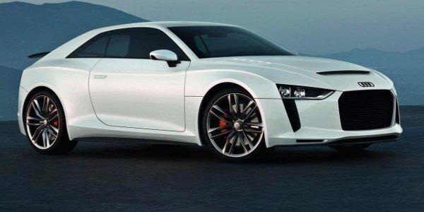 Production de l'Audi Quattro Concept