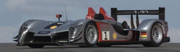 Audi R15 : un V10 pour conquérir Le Mans