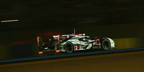 Le Mans : nouveau châssis pour l'Audi n°1