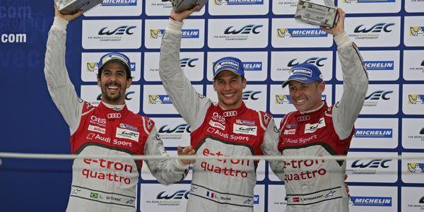 WEC : finale émouvante chez Audi