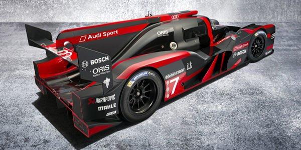 WEC : l'Audi R18 en piste à Sebring