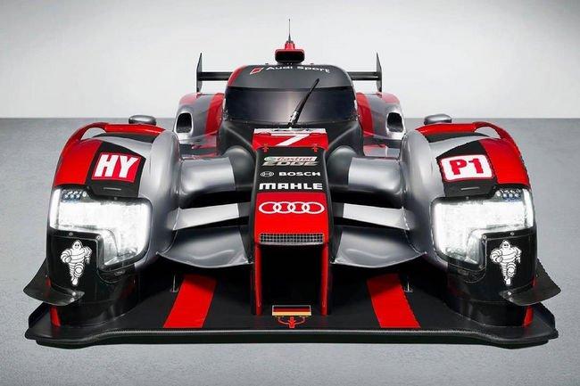 WEC : nouvelle Audi R18 e-tron quattro