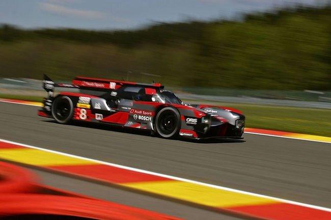 WEC : l'Audi numero 8 s'impose à Spa