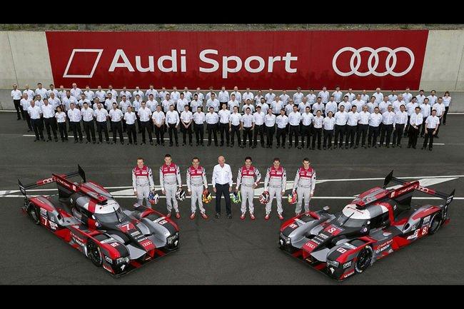 Le Mans : Audi a accumulé les kilomètres