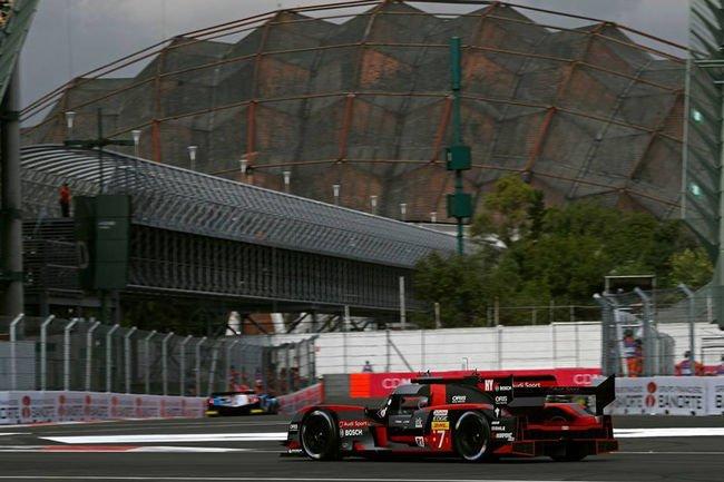 WEC : Audi en pole à Mexico
