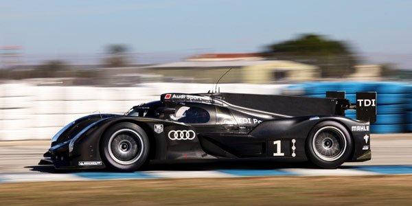 L'Audi R18 en test à Sebring
