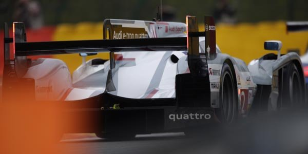 WEC/Spa: première ligne 100% Audi