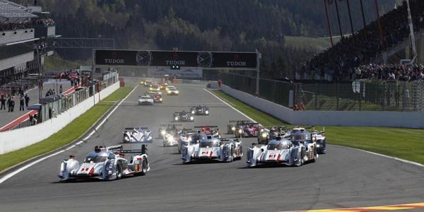 WEC/Spa : Audi signe le triplé
