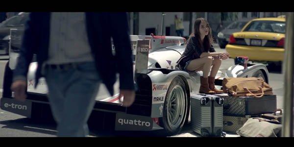 Vidéo : la vie en Audi R18 e-tron