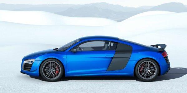 Audi R8 LMX : des phares au laser et 570 chevaux