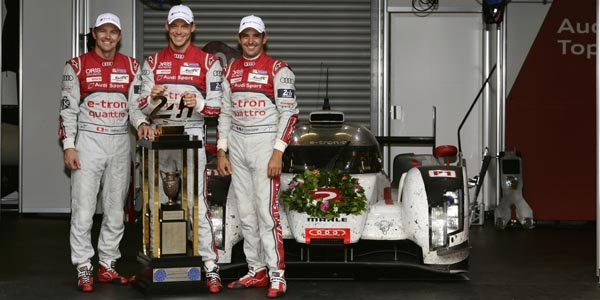 Les vainqueurs du Mans déjà de retour en piste
