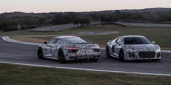 La nouvelle Audi R8 entre en piste