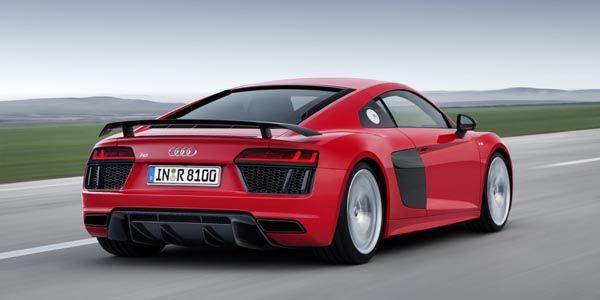 Audi présente ses nouvelles R8 V10 et V10 Plus