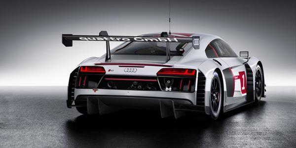 Audi lève le voile sur son R8 LMS 2015