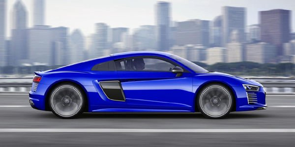 L'Audi R8 e-tron passe en mode piloted driving