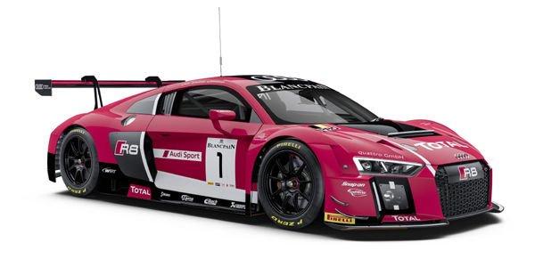 Les Audi R8 LMS en force aux 24 Heures de Spa