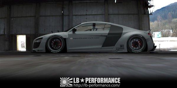 SEMA : Audi R8 par Liberty Walk