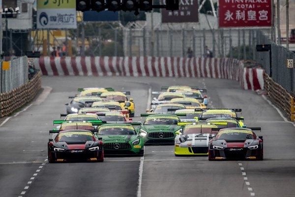 Étrange victoire pour l'Audi R8 dans les rues de Macao